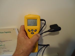 Mold Inspection tools being used in North Carolina