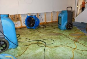 Flood Waters Damage Restoration Hero Mold Company Wilson, NC