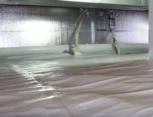 Encapsulated Crawl Space Hero Mold Removal