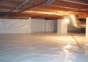 Crawl Space Encapsulation Hero Mold Company Greensboro NC