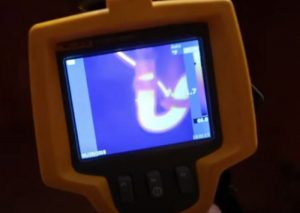 Infrared Hidden Pipe Leak Hero Mold Company Durham NC